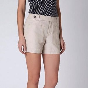 Anthro Daughters of the Liberation Linen Shorts 2